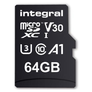 Geheugenkaart Integral MicroSDHC V30 64GB