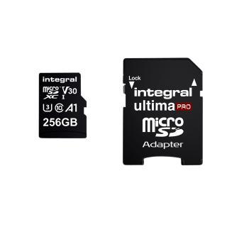 Geheugenkaart Integral MicroSDXC V30 256GB