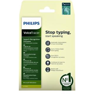 Licentie Philips Spraakherkenningssoftware Voicetrackers