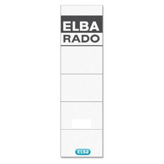 Rug-insteekkaart Elba Rado Breed 44x159mm Wit