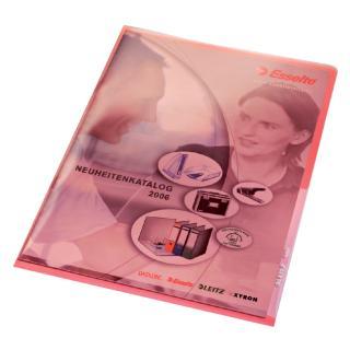 Insteekmap L-map Leitz Premium A4 PVC Rood