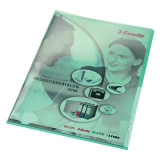 Insteekmap L-map Leitz Premium A4 PVC Groen