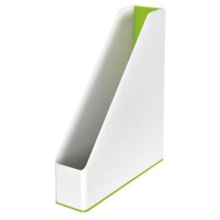 Tijdschiftcassette Leitz WOW Wit/groen