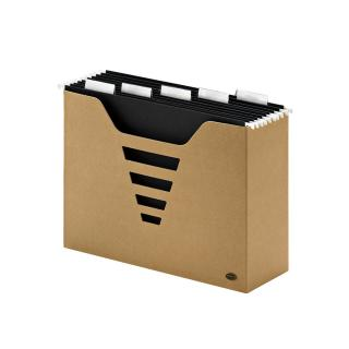 Hangmappenbox Multo Kraft Line A4 + 5 Hangmappen