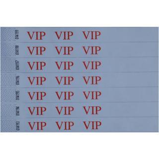 Polsbandje CombiCraft Met Opdruk VIP Wit