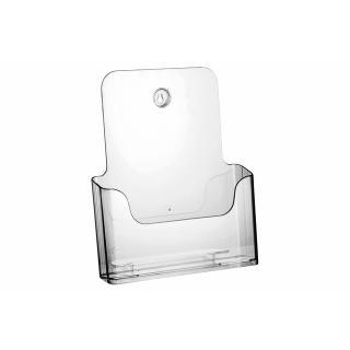 Folderhouder OPUS 2 Tafel/wand A4 Transparant