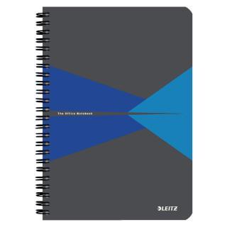 Notitieboek Leitz Office A5 Lijn PP Blauw