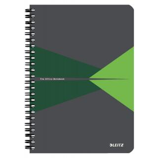 Notitieboek Leitz Office A5 Lijn PP Groen