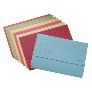 Dossiermap Esselte Pocket File Rood