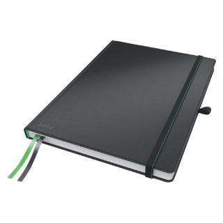 Notitieboek Leitz Complete Hardcover IPad 10″ Gelinieerd Zw