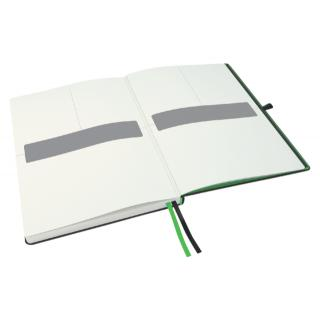 Notitieboek Leitz Complete Hardcover A5 Gelinieerd Zwart