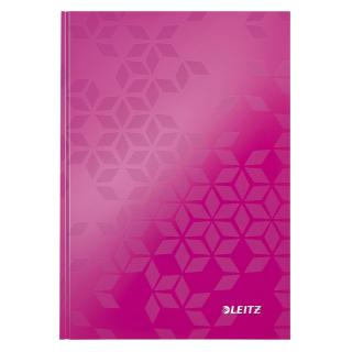 Notitieboek Leitz WOW A5 Lijn Roze