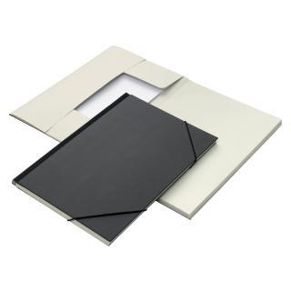 Combinatiemap Jalema 6 Vaks Folio Zwart