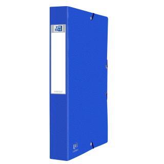 Elastobox Oxford Eurofolio A4 40mm Blauw