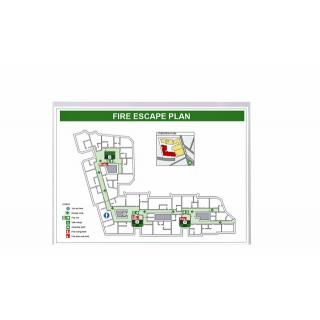 Insteekmap L-model 3L  A4 Biologisch PLA Transparant