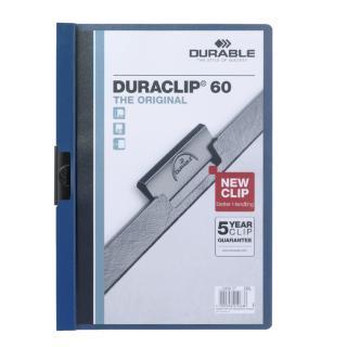 Klemmap Durable 2209 A4 6mm Donkerblauw