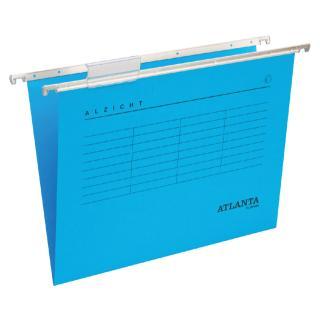 Hangmap Alzicht Folio V-bodem Blauw