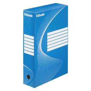 Archiefdoos Esselte Boxycolor 80mm Blauw