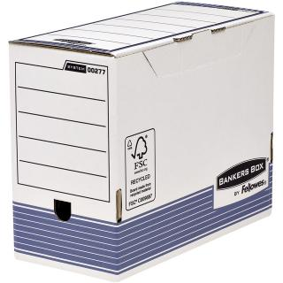 Archiefdoos Bankers Box System A4 150mm Wit Blauw