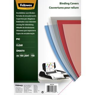 Voorblad Fellowes A4 PVC 150micron 100stuks