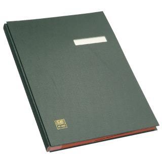 Vloeiboek Elba 20 Vakken Zwart