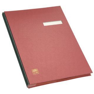 Vloeiboek Elba 20 Vakken Rood
