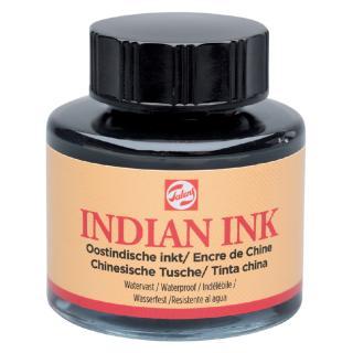 Oost-Indische Inkt Talens Zwart 30ml