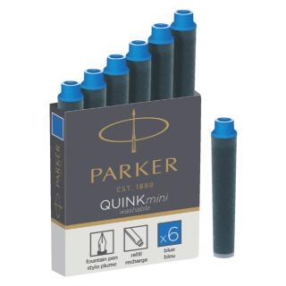 Inktpatroon Parker Quink Mini Tbv Parker Esprit Koningsblauw