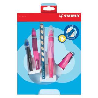 Giftpack STABILO Easyergonomics Experts Roze Links
