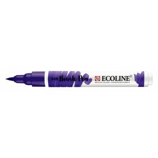Brushpen Talens Ecoline 374 Blauwviolet