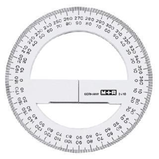 Kompasroos M+R 2415 150mm Polystyrol Transparant