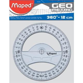 Kompasroos Maped 120mm Polystyrol Transparant