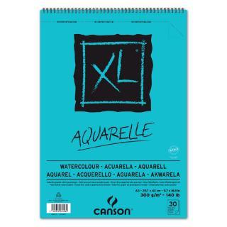 Aquarelblok Canson XL A3 30v 300gr Spiraal