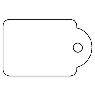 Label Apli Karton Nr387 13x20mm Wit