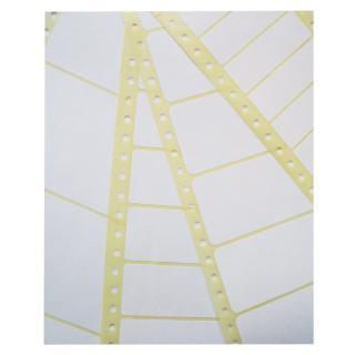 Etiket Avery Zweckform T1516 89×23.4mm 1-baans Wit 6000stuks