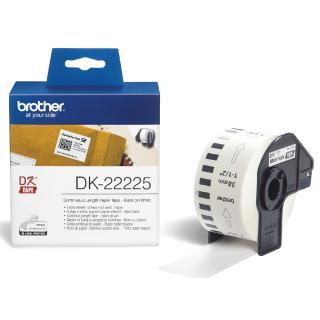 Etiket Brother DK-22225 38mm Thermisch 30-meter Wit Papier