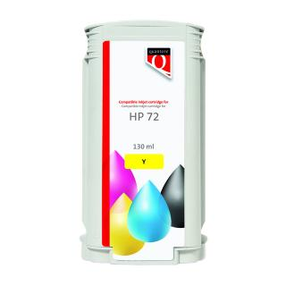 Inkcartridge Quantore HP 72 C9373A Geel
