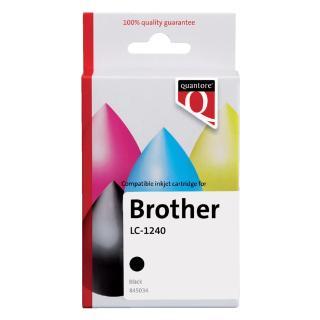 Inktcartridge Quantore Brother LC-1240 Zwart