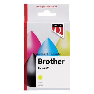 Inktcartridge Quantore Brother LC-1100 Geel