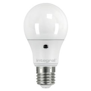 Ledlamp Integral Auto Sensor E27 5W 2700K Warm 470lumen