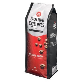 Koffie Douwe Egberts Bonen Fresh Melange Rood 1000gr