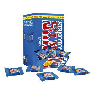 Chocolade Tiny Tony's Chocolonely 100 Stuks Puur