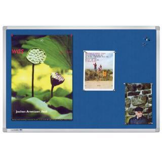 Textielbord Legamaster Universal 90x120cm Blauw