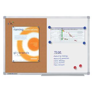 Whiteboard Duobord Legamaster Economy 90x120cm