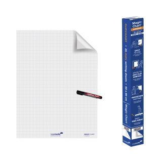 Magic-Chart Legamaster Whiteboard 60x80cm Wit Met Ruit