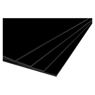 Foamboard 70x100cm 2-zijdig 5mm Zwart